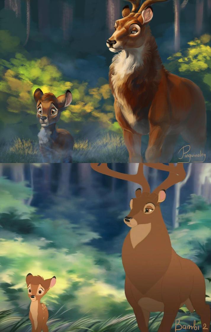 http://pre14.deviantart.net/05b3/th/pre/i/2015/021/5/f/bambi_2_redraw_by_pihguinolog-d8et65g.jpg Bambi 2 Bambi