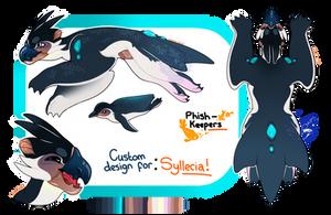 .: Custom P-K Design for - Syllecia by FlNCH-FACE