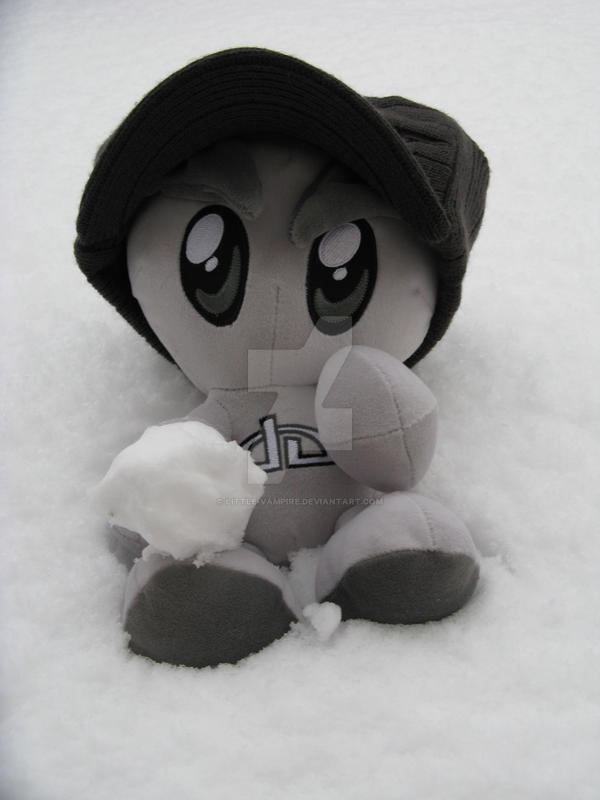 Fella in the Snow by Little-Vampire