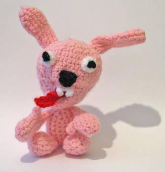 Psycho Bunneh Crochet by Little-Vampire