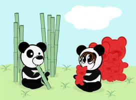 Panda and Dany
