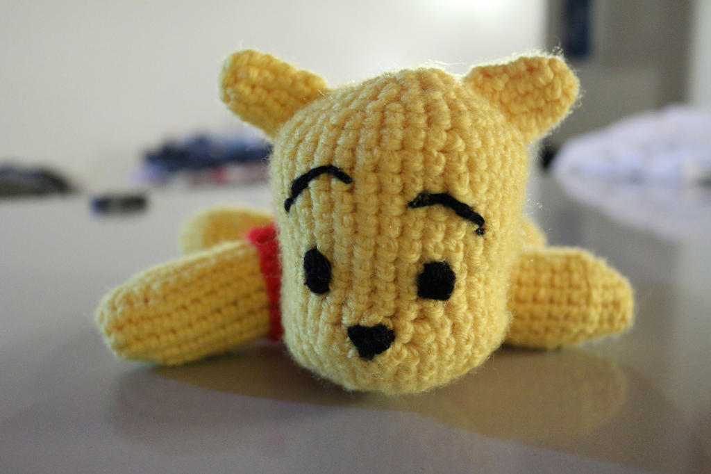 Winnie the pooh amigurumi by Little-Vampire