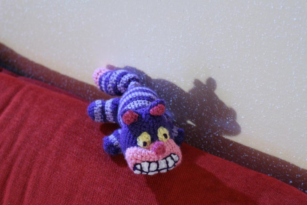 Cheshire cat amigurumi by Little-Vampire