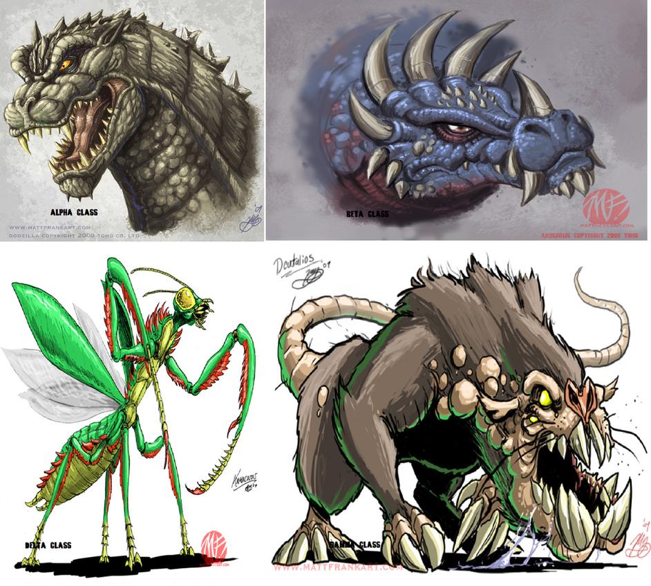 Kaiju Classifications By Kaijualpha1 On DeviantArt