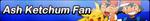 Ash Ketchun Fan Button by PrincessLilligant
