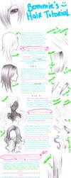 Tutorial: Draw Hair : VER. 2.0 by bommie
