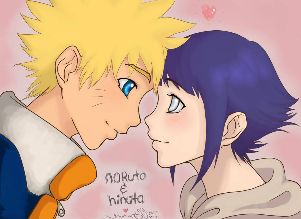 Naruto And Hinata Hullo Love By Bommie On DeviantArt