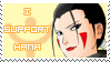 Inuzuka Hana supporter stamp by Rea-the-hedgehog