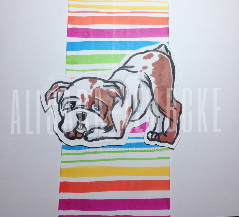 Bull dog!! by AlAl2013