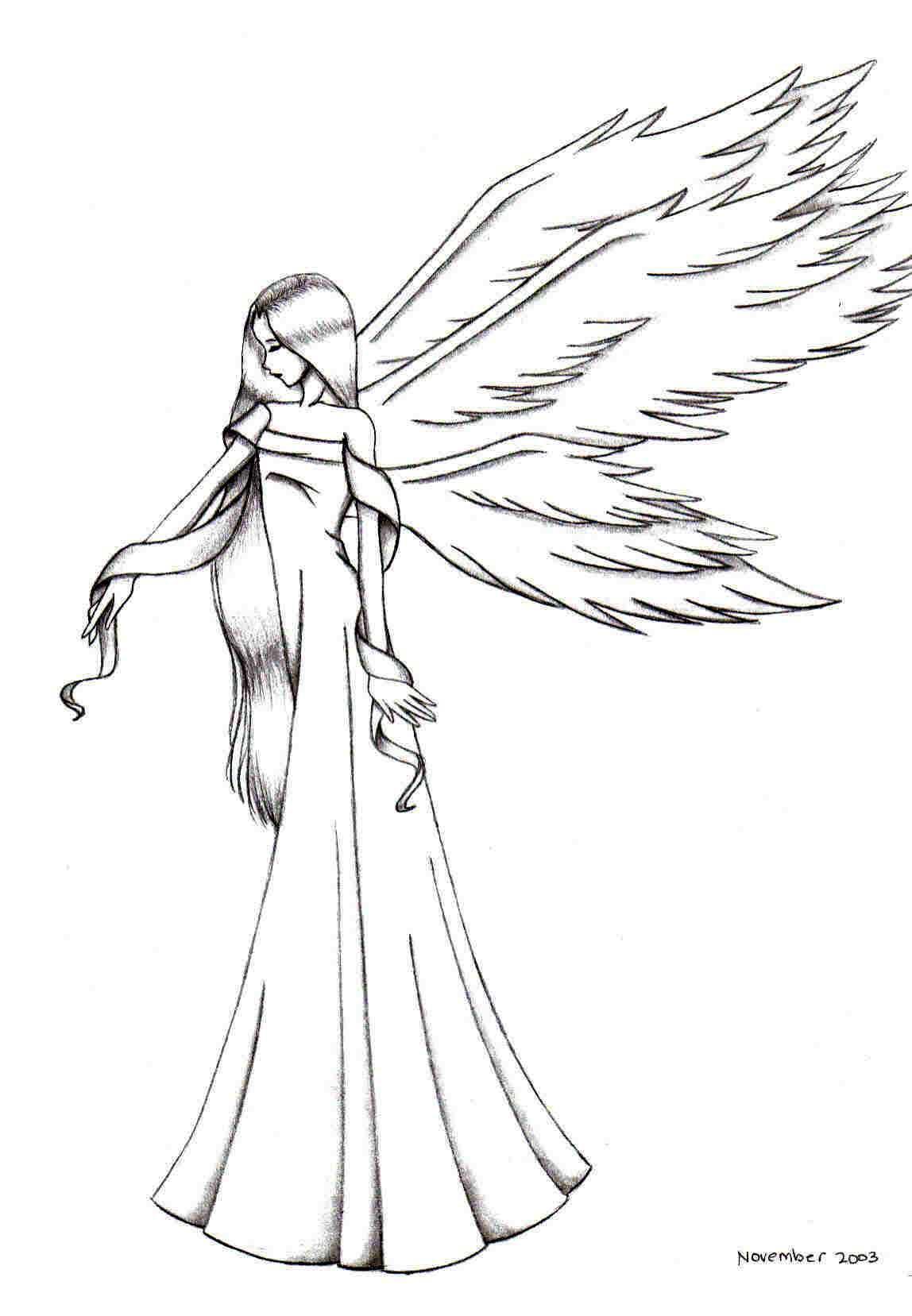 sorrowful angel by fu-rin-ka-zan