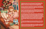 TG Caption - Wrapping a gift