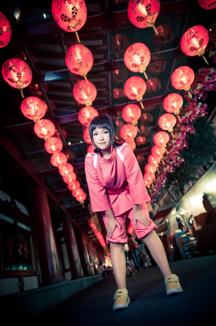 Spirited Away Chihiro Ogino by random-pax