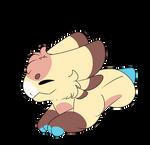 Sleepy cake .: wyngro :. by zoeyskully