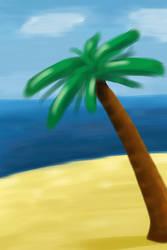 Palm Tree by Midkiffaies