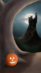Halloween Castle by Midkiffaies