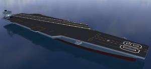 Sovereign class CVN WIP