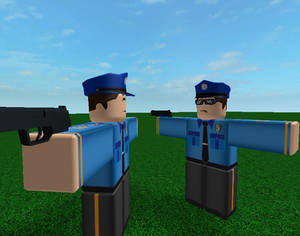 Police T-Pose