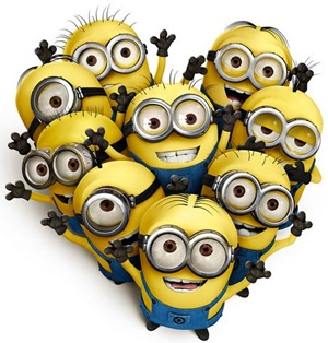 dispicable me minions by aquamarine1012