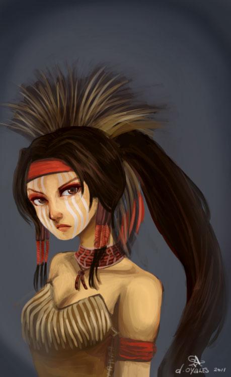 Native American Akali by sweethaven