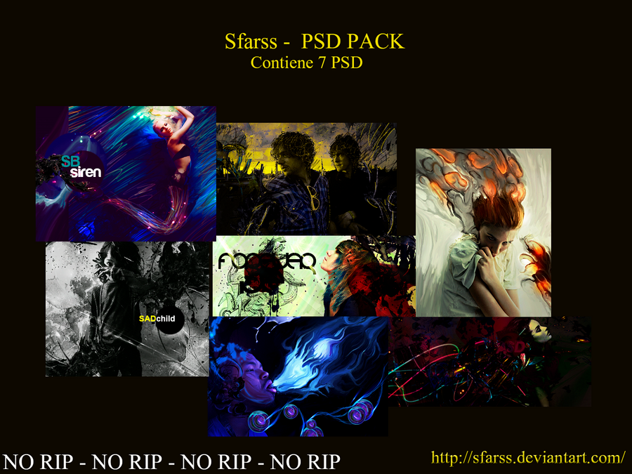 Sfarss - PSD PACK by Sfarss