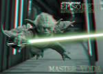 3D Yoda Comin' at Ya