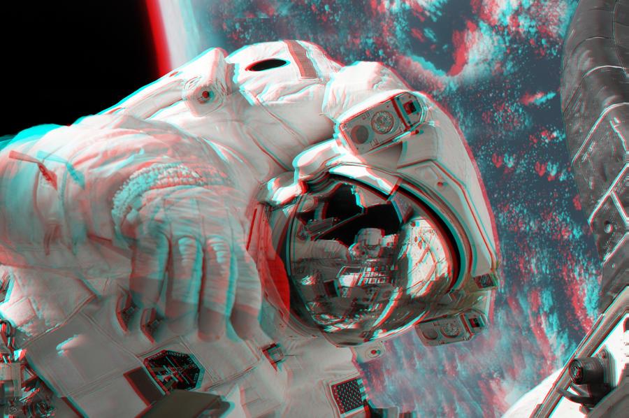 Spacewalk... in 3D!!!! by homerjk85