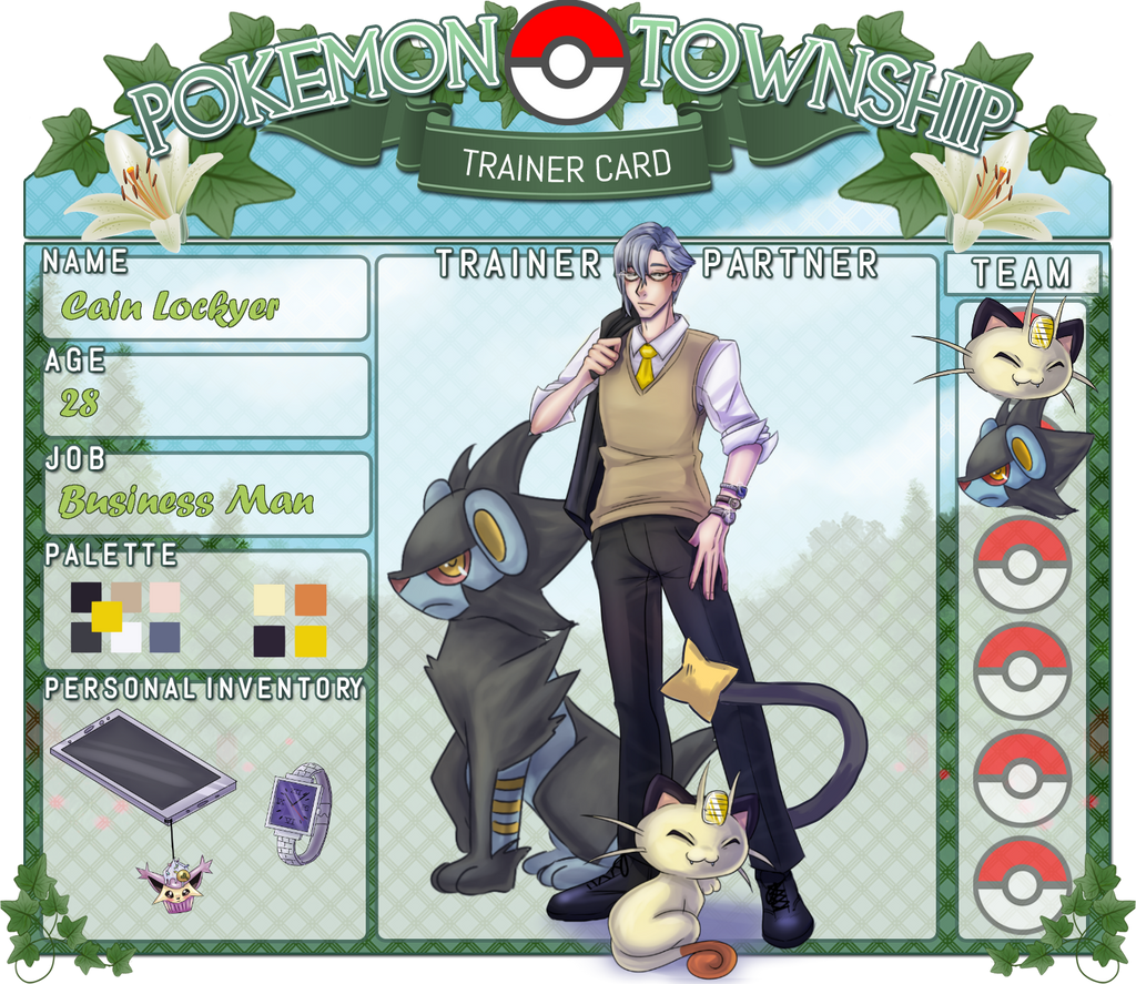PTS Trainer Card - Cain Lockyer by Astra-cat