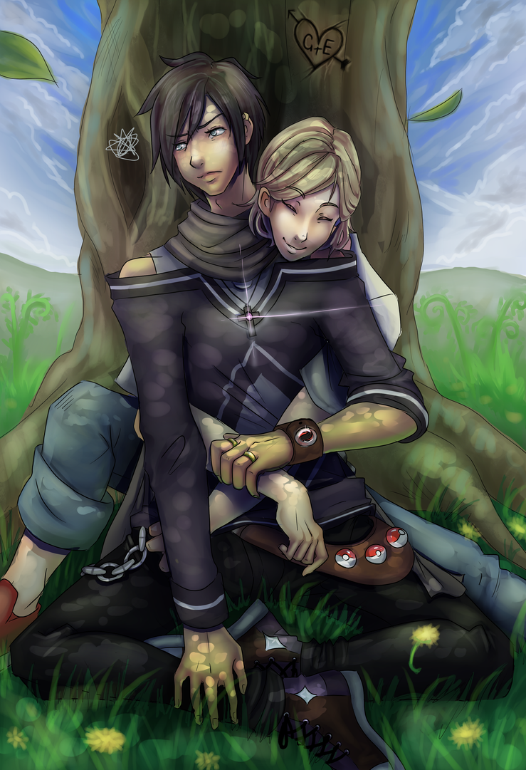 Under the Oaktree. by Astra-cat