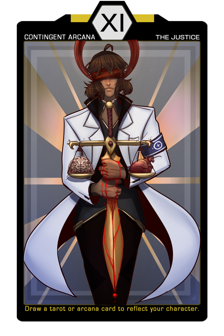 Contingen:ce Arcana - The Justice by Astra-cat
