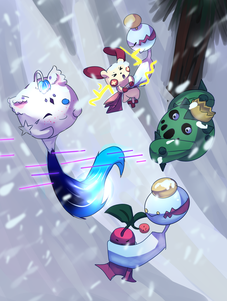 Snowfight by Astra-cat
