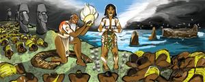 Mulan of Easter Island (Rapa Nui)