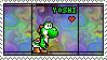 Yoshi tyedye Stamp