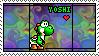Yoshi tyedye Stamp by Gunmetal2005