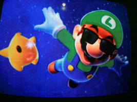 Super Luigi Galaxy by Gunmetal2005