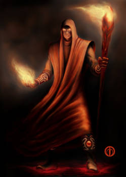 Adept of Fire Magic