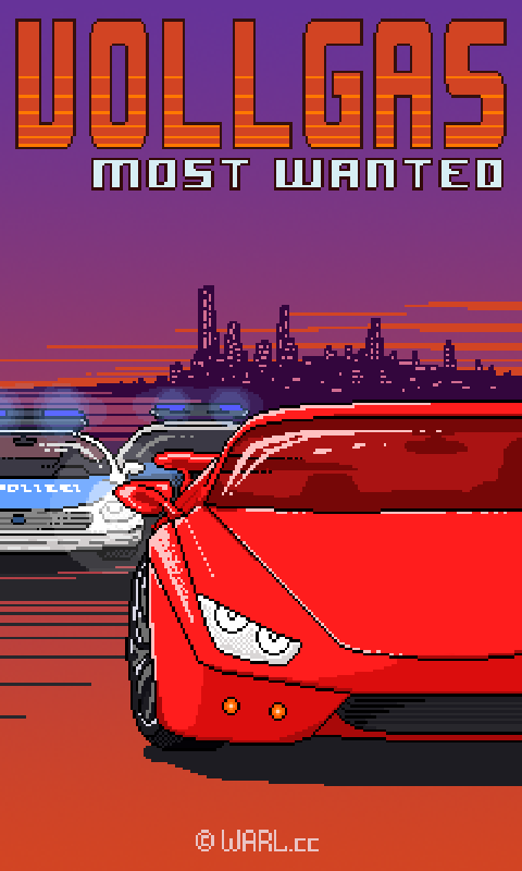 Vollgas - Most Wanted Title Screen by Warl88