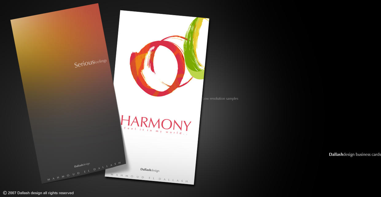 Business Cards By Dalash