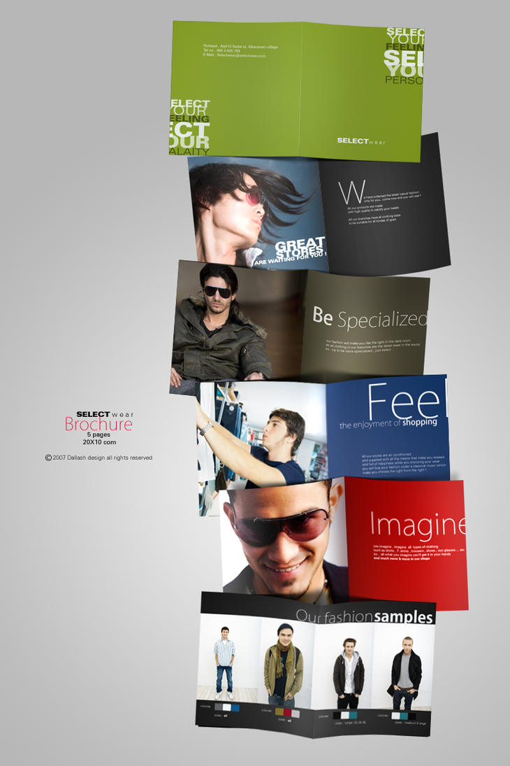 SELECT - brochure by Dalash