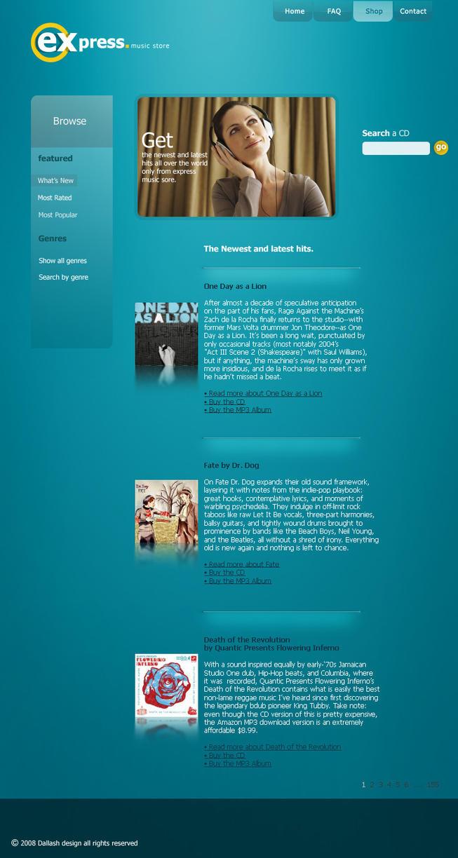 express - Web Interface by Dalash