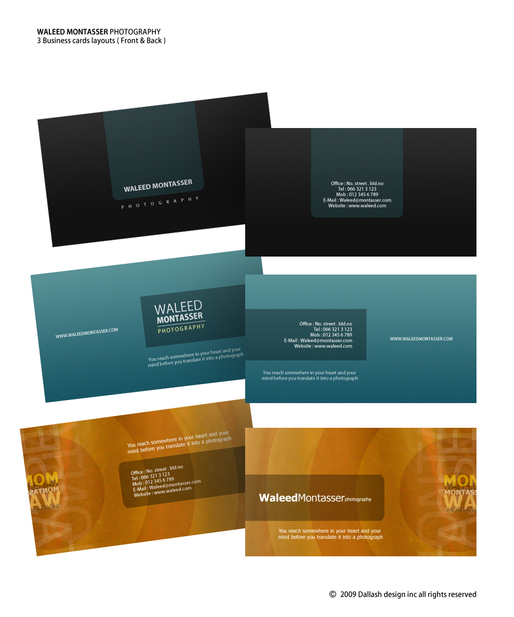 WM. Business Cards