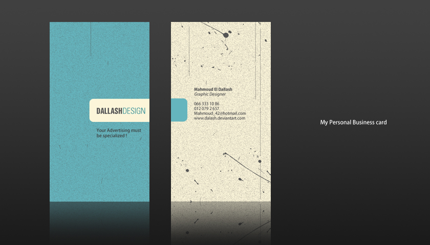 Personal business card 2 by dalash on deviantart personal business card 2 by dalash colourmoves
