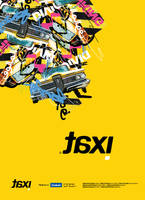 Taxi Poster by Dalash