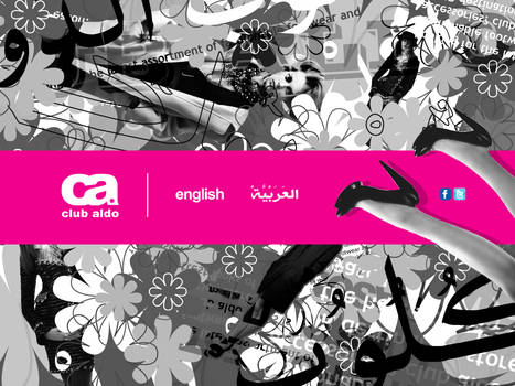 Club Aldo - web design