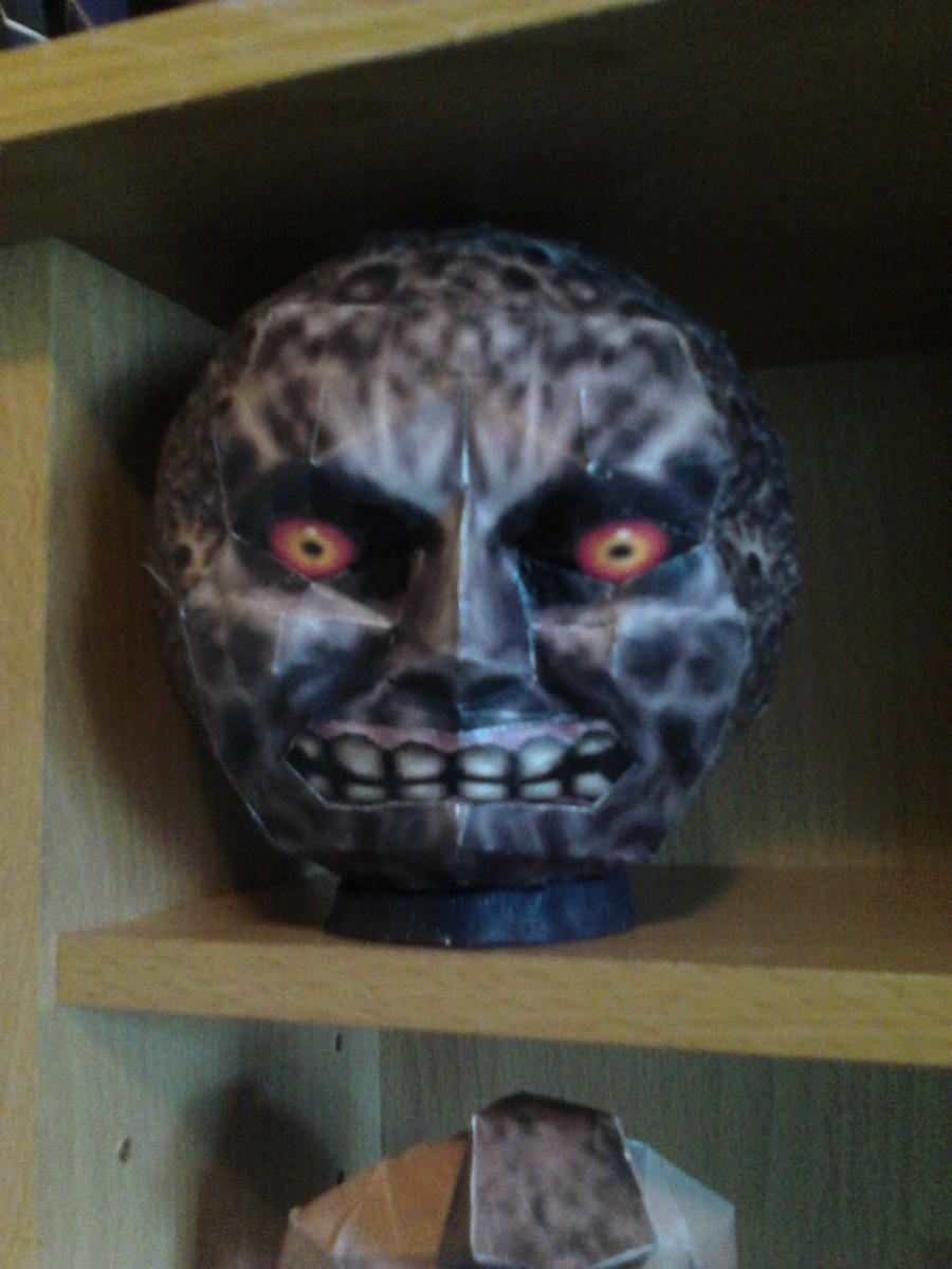 Majora's Mask Moon by demonreapergirl