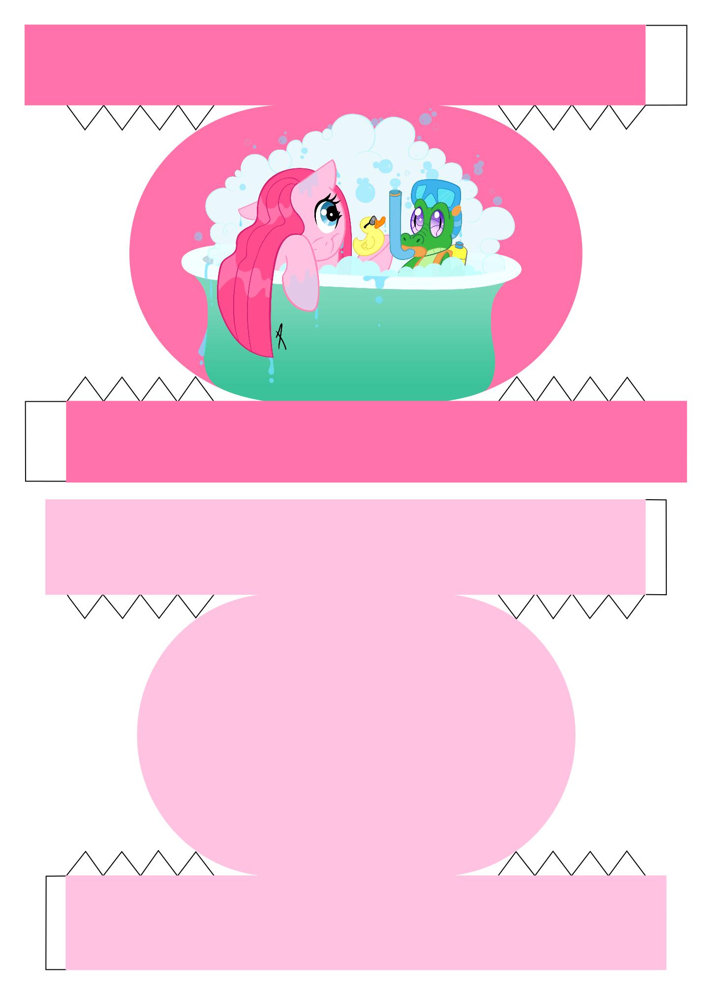 Pinkie Pie Bento Box 1/2 by demonreapergirl