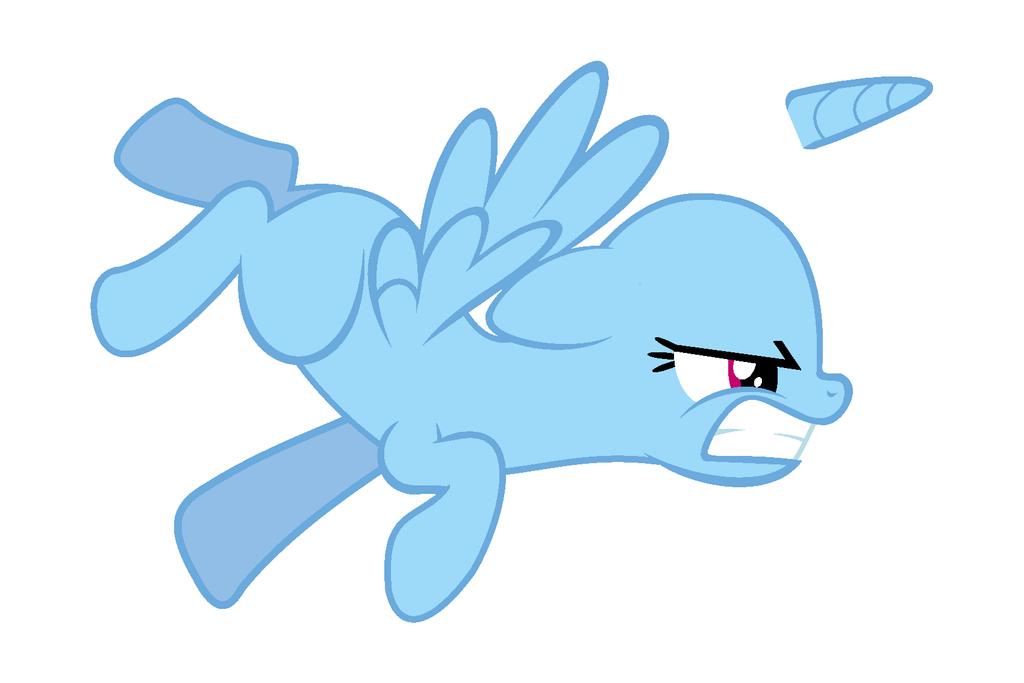 Pony Base 7 by demonreapergirl