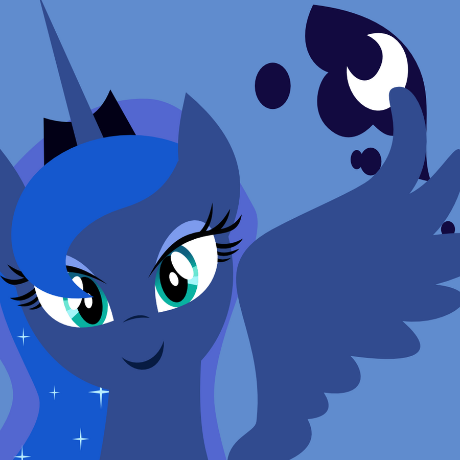 Icon: Princess Luna ~Season 2~ by demonreapergirl
