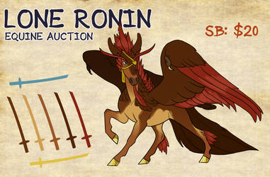 Lone Ronin Auction | Closed