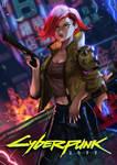 Cyber Punk V Fan Art