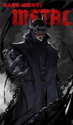 The Batman Who Laughs Cover Fan Art
